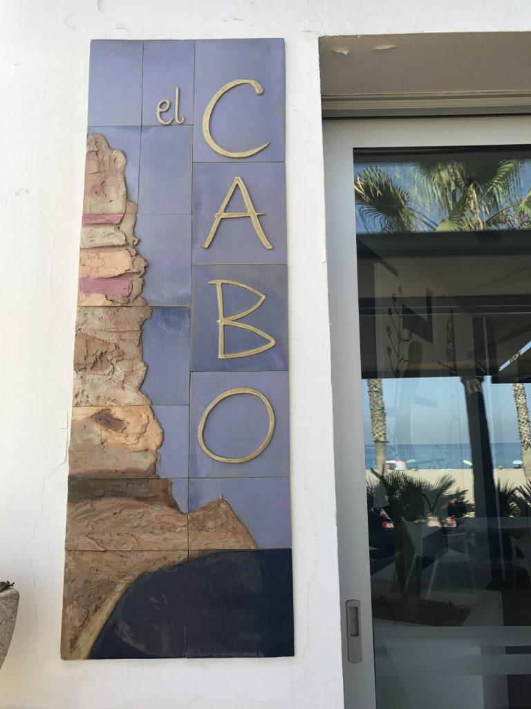 Entrada Restaurante el Cabo