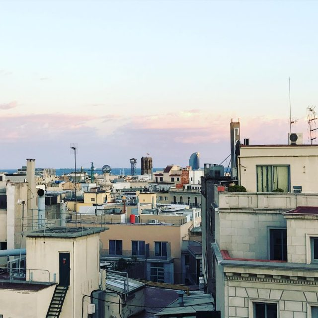 Sobre los tejados de barcelona   h10universitat lovebarcelona eixamplebcnhellip