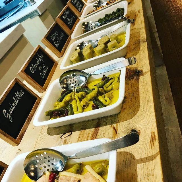 Barra antipasti barcelonamilano grupolive    grupolive foodie barcelonahellip