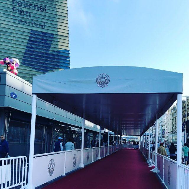 ZINEMALDIA 65SSIFF redcarpet festivalers zinemaldia cine cinema septimoarte kursaal donostiahellip