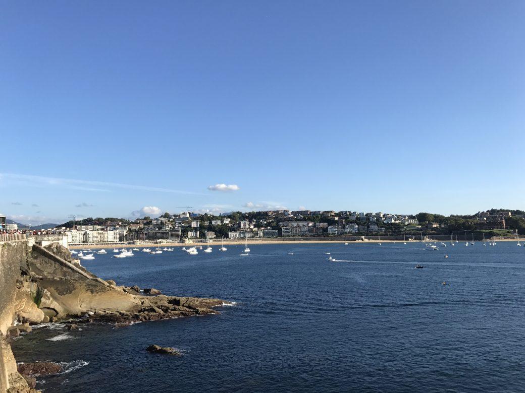 Vista de la Bahía desde Paseo Nuevo