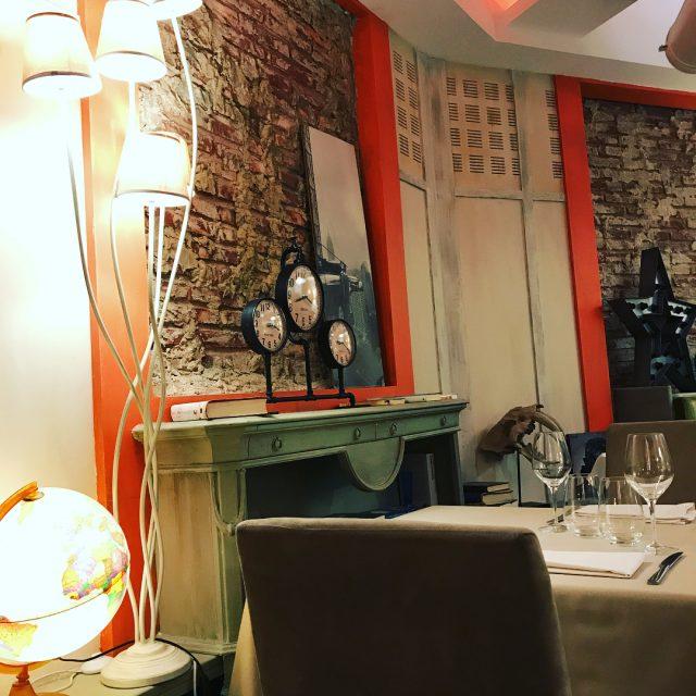 Una noche en el restauranteaitzgorri  Las referencias no podanhellip